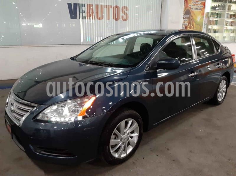 Nissan Sentra Sense Aut usado (2016) color Azul precio $163,000