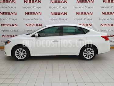 Nissan Sentra Sense usado (2017) color Blanco precio $185,000