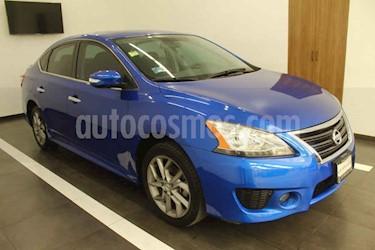 Nissan Sentra 4p SR L4 1.8 CVT usado (2013) color Azul precio $140,000