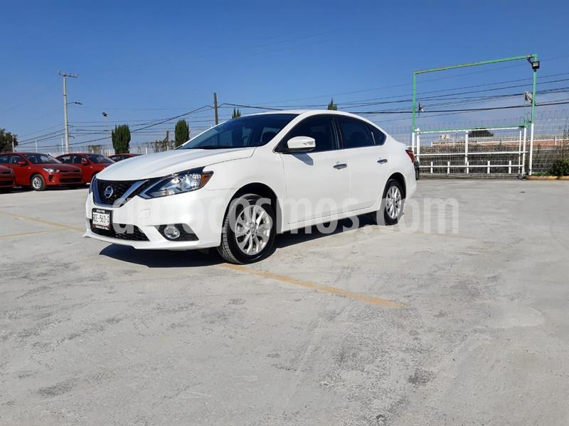 Nissan Sentra Advance usado (2017) color Blanco precio $210,000