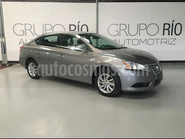 Nissan Sentra Advance usado (2015) color Gris Oxford precio $155,000