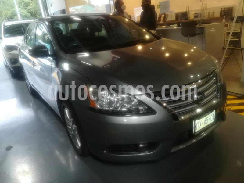 Nissan Sentra Advance Aut usado (2015) color Gris Oxford precio $135,000