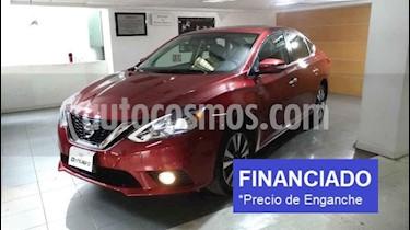 Nissan Sentra Exclusive Aut  usado (2018) color Rojo precio $68,750