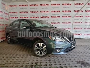 Foto Nissan Sentra Exclusive NAVI Aut usado (2018) color Azul Electrico precio $279,000