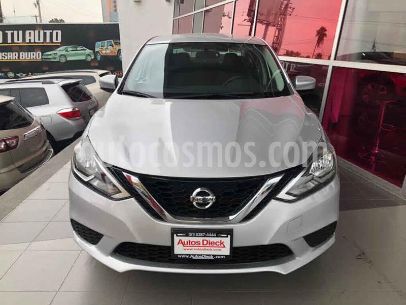 Nissan Sentra Sense Aut usado (2018) color Plata precio $205,000