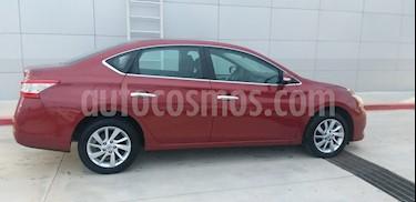 Nissan Sentra Advance usado (2016) color Rojo precio $180,000