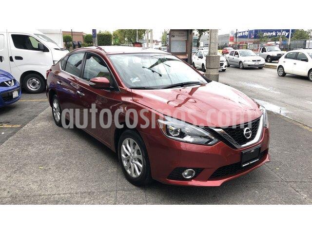 Nissan Sentra Exclusive Aut  usado (2018) color Rojo precio $264,000