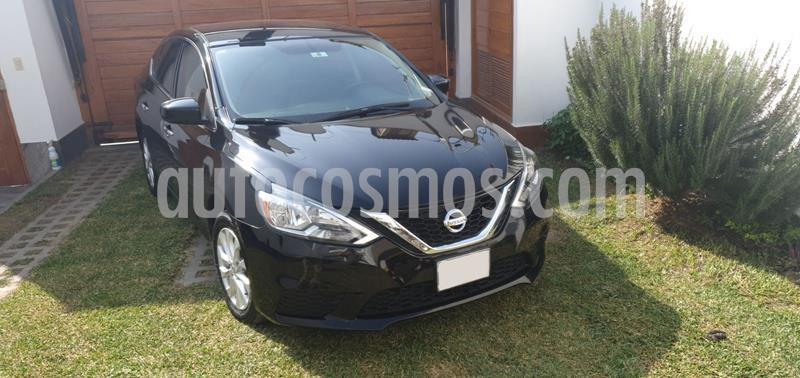 Nissan Sentra 1.8L Sense usado (2017) color Negro precio u$s12,990