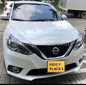Foto venta Carro usado Nissan Sentra Sense Aut (2017) color Blanco precio $46.500.000