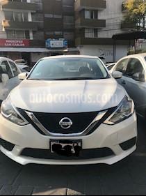 Foto venta Auto usado Nissan Sentra Sense Aut (2017) color Blanco precio $200,000