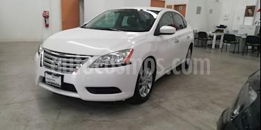 Foto venta Auto usado Nissan Sentra Sense Aut (2016) color Blanco precio $185,000