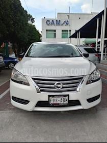 Foto venta Auto usado Nissan Sentra Sense Aut (2015) color Blanco precio $173,900