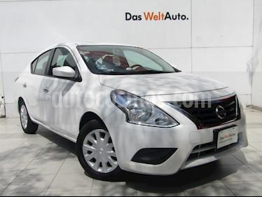 Foto venta Auto usado Nissan Sentra Sense Aut (2019) color Blanco Perla precio $215,000