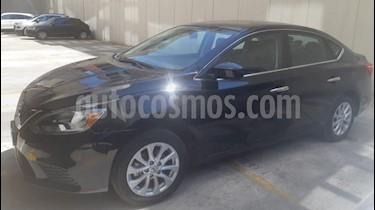 Nissan Sentra Sense Aut usado (2017) color Negro precio $200,000