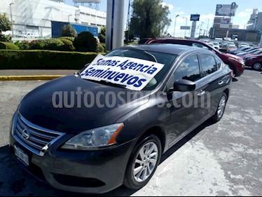 Nissan Sentra Sense Aut usado (2013) color Gris precio $139,000