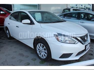 Foto venta Auto usado Nissan Sentra Sense Aut (2017) color Blanco precio $198,000