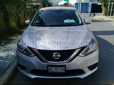 Foto Nissan Sentra Sense Aut usado (2017) color Plata precio $184,000