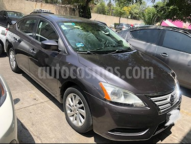 Nissan Sentra Sense Aut usado (2013) color Gris Oxford precio $136,000