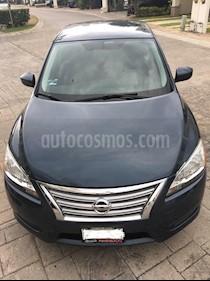 Nissan Sentra Sense Aut usado (2015) color Azul precio $148,000