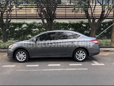 Nissan Sentra Sense Aut usado (2016) color Gris Oxford precio $159,000