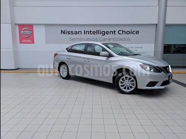 foto Nissan Sentra Sense Aut usado (2018) color Plata precio $239,000
