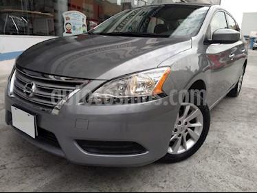 Foto venta Auto usado Nissan Sentra Sense Aut (2014) color Gris precio $200,000