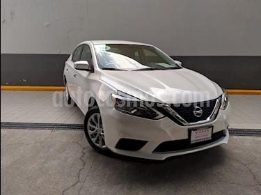 Foto venta Auto usado Nissan Sentra Sense Aut (2018) color Blanco precio $238,000