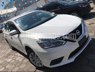 Nissan Sentra Sense Aut usado (2017) color Blanco precio $195,000