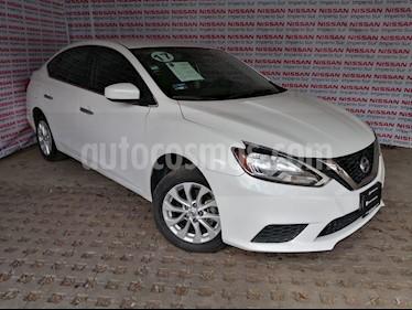 Foto Nissan Sentra Sense Aut usado (2017) color Blanco precio $189,000