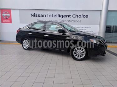 Foto venta Auto usado Nissan Sentra Sense Aut (2018) color Negro precio $239,000