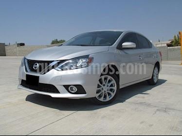 Foto venta Auto usado Nissan Sentra Sense Aut (2018) color Plata precio $247,000