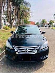 Nissan Sentra Sense Aut usado (2016) color Negro precio $178,000