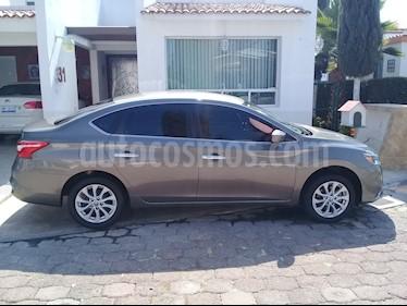 Nissan Sentra Sense Aut usado (2017) color Acero precio $174,000