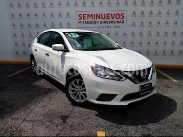 Foto Nissan Sentra Sense Aut usado (2017) color Blanco precio $203,000