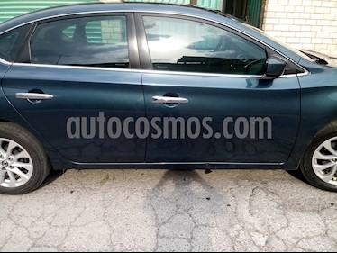 Nissan Sentra Sense Aut usado (2017) color Azul precio $175,000