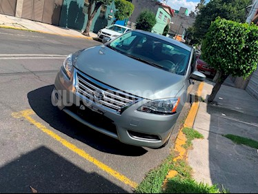 Nissan Sentra Sense Aut usado (2014) color Gris precio $138,000