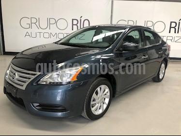 Foto venta Auto usado Nissan Sentra Sense Aut (2016) color Azul precio $179,000