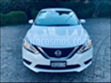Nissan Sentra Sense Aut usado (2017) color Blanco precio $219,000