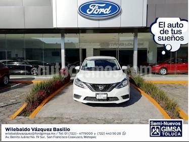 Foto venta Auto Seminuevo Nissan Sentra SENSE MT (2017) color Blanco precio $184,000
