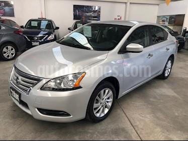Foto venta Auto usado Nissan Sentra Sense (2016) color Plata precio $175,000