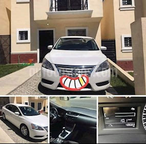 Nissan Sentra Sense usado (2016) color Blanco precio $184,000