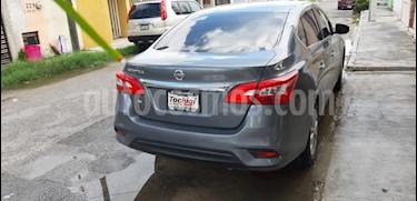 Nissan Sentra Sense usado (2018) color Gris Oxford precio $178,000