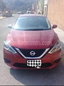 Foto Nissan Sentra Sense usado (2018) color Rojo Burdeos precio $230,000