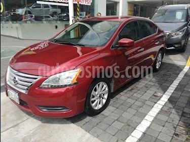 Foto Nissan Sentra Sense usado (2016) color Rojo precio $160,000