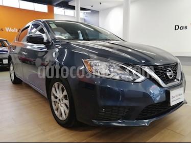 Foto venta Auto usado Nissan Sentra Sense (2017) color Azul precio $185,000