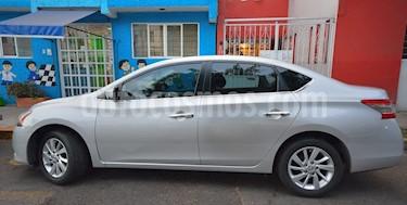 Foto venta Auto usado Nissan Sentra Sense (2013) color Plata precio $155,000
