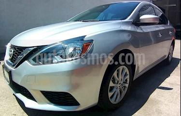 Foto venta Auto usado Nissan Sentra Sense (2017) color Plata precio $197,000