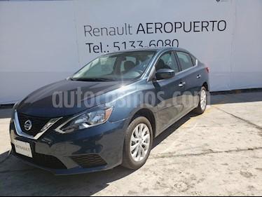 Foto venta Auto usado Nissan Sentra Sense (2017) color Azul precio $199,000