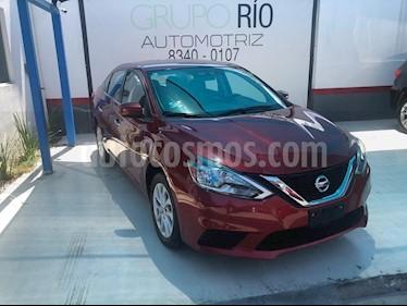Foto venta Auto usado Nissan Sentra Sense (2017) color Rojo precio $195,000