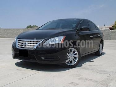 Foto venta Auto usado Nissan Sentra Sense (2015) color Negro precio $170,000